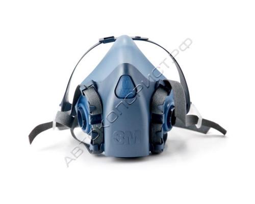 Маска защитная силиконовая 7502 размер M 3М