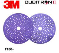 Круг абразивный P 180 150мм c мультипылеотводом Purple+ 737U CUBITRON II 3M