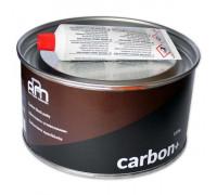 Шпатлевка с углеволокном черная CARBON+ ARM (1,8кг)