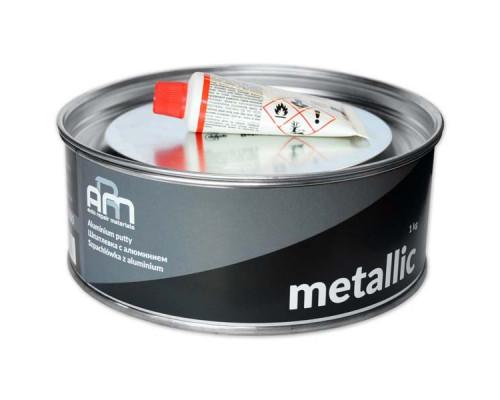 Шпатлевка с алюминием METALLIC ARM (1,0кг)