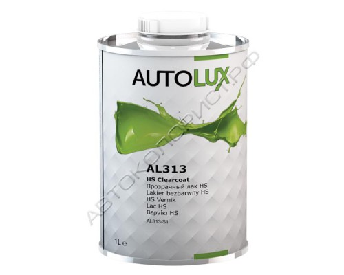 Прозрачный лак HS 2K без отвердителя AUTOLUX (1л)