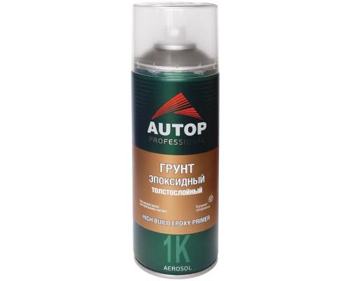 Грунт-аэрозоль эпоксидный серый толстослойный AUTOP PROFESSIONAL (520мл)