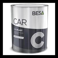 Краска для бампера структурная черная 9005 BESA (1л)