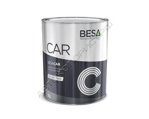 Грунт 4+1 темно-серый 7016 HS толстослойный акриловый без отвердителя BESA (1л)