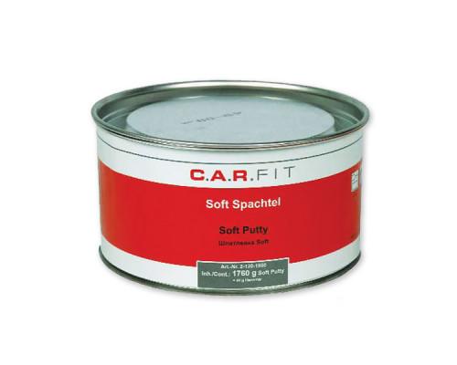 Двухкомпонентная полиэфирная шпатлевка SOFT CAR-FIT (1,8 кг)