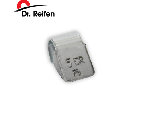 Грузики балансировочные для литых дисков 5гр DR.REIFEN (100шт)