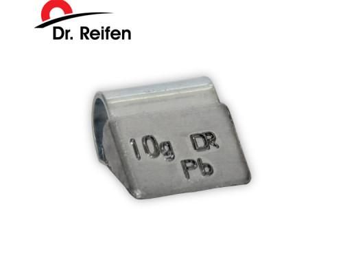 Грузики балансировочные для литых дисков 10гр DR.REIFEN (100шт)
