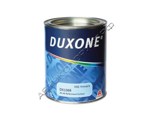 Грунт 2+1 темно-серый HS выравнивающий DX-1068 DUXONE (1л) без отвердителя