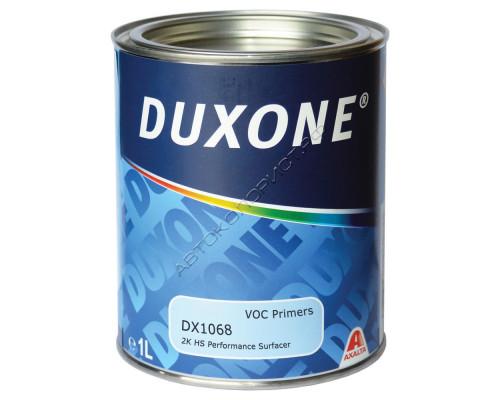 Грунт DX-1068 HS 2+1 выравнивающий темно-серый без отвердителя DUXONE (1л)