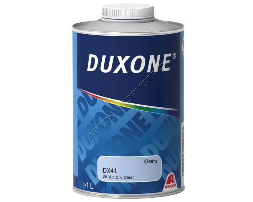 Лак DX-41 НS 2+1 супербыстрый без отвердителя DUXONE (1л)