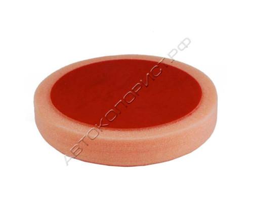 Круг полировальный 150х30мм на липучке оранжевый средний HOLEX