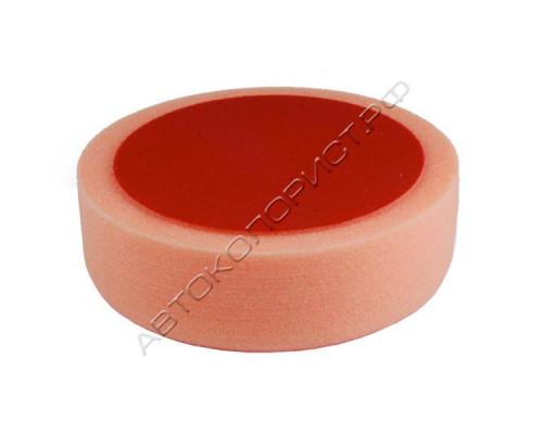Круг полировальный 150х50мм на липучке оранжевый средний HOLEX