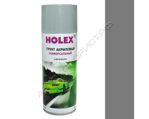 Грунт-аэрозоль серый акриловый HOLEX (400мл)