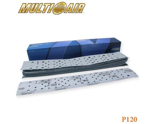 Полоска абразивная P120 70х420мм 67 отверстий MULTI-AIR PLUS A975 NORTON