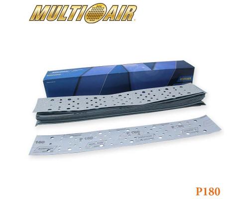 Полоска абразивная P180 70х420мм 67 отверстий MULTI-AIR PLUS A975 NORTON