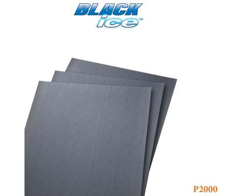 "Бумага абразивная ""по-мокрому"" Р2000 230х280мм BLACK ICE NORTON"