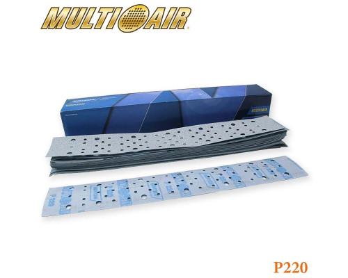 Полоска абразивная P220 70х420мм 67 отверстий MULTI-AIR PLUS A975 NORTON