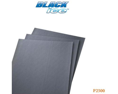 "Бумага абразивная ""по-мокрому"" Р2500 230х280мм BLACK ICE NORTON"