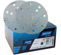 Круг абразивный P400 150мм 15 отверстий PRO PLUS A975 NORTON
