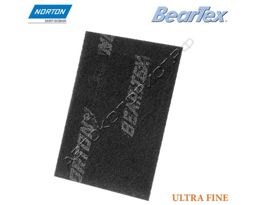 Скотч-брайт в листах P 600/800 152х229мм серый ULTRA FINE BEARTEX NORTON
