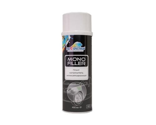 Грунт-аэрозоль серый акриловый антикоррозионный MONO FILLER PRO (400мл)