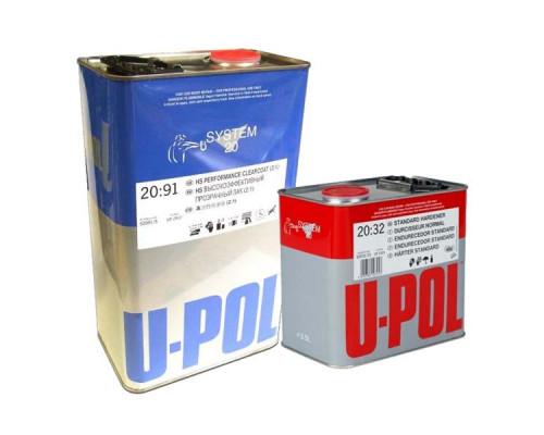 Лак HS 2+1 2091 + отвердитель 2032 U-POL (5л+2,5л)