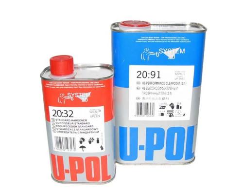 Лак HS 2+1 2091 + отвердитель 2032 U-POL (1л+0,5л)