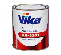 202 белая акриловая автоэмаль АК-1301 VIKA (0,85кг)