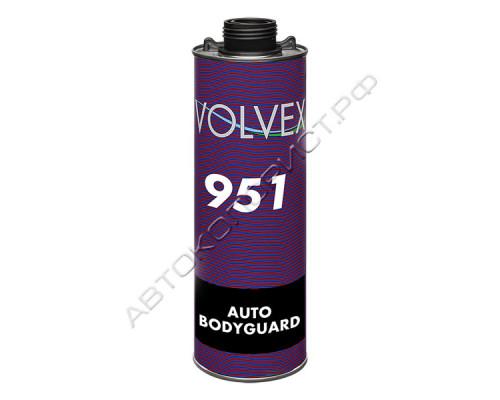 Антигравий AUTO BODYGUARD 951 (черный) VOLVEX (1кг)