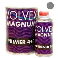 Грунт 4+1 HS серый акриловый MAGNUM VOLVEX (0,8л + 0,2л)