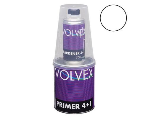 Грунт 4+1 HS белый акриловый с отвердителем VOLVEX (0,8л + 0,2л)