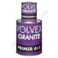 2К Грунт-наполнитель серый 4+1 GRANITE VOLVEX с отвердителем (0,8л + 0,2л)