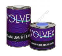 Лак TITANIUM HS LACK акриловый с отвердителем VOLVEX (5л+2,5л)
