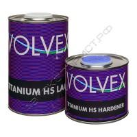 Лак TITANIUM HS LACK акриловый с отвердителем VOLVEX (1л+0,5л)