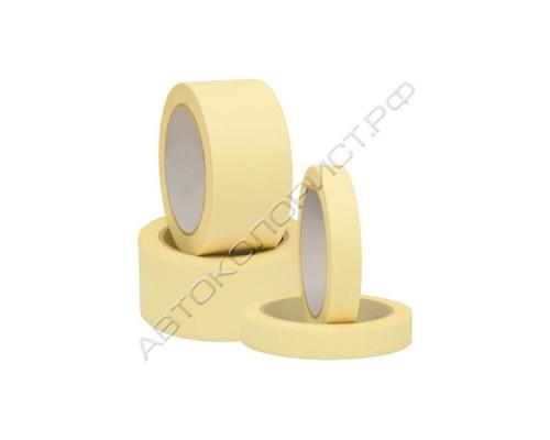 Лента малярная 19мм*40м (желтая) VOLVEX