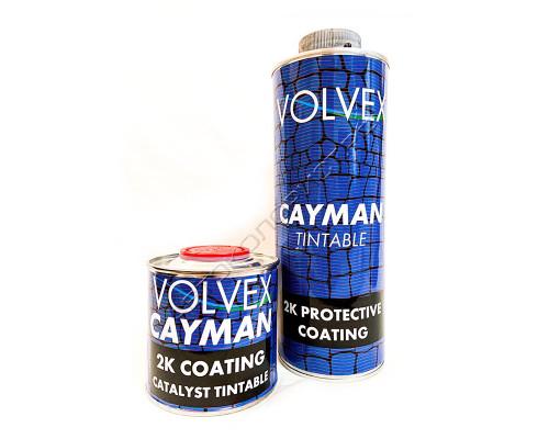 Покрытие защитное для кузова полиуретановое колеруемый CAYMAN VOLVEX (0,8л + 0,2л)