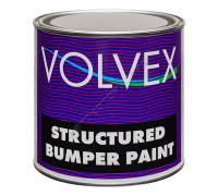Краска для бампера структурная черная VOLVEX (0,75л)