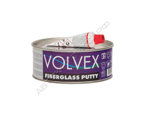 Шпатлевка Fiberglass Putty VOLVEX (1,0кг)
