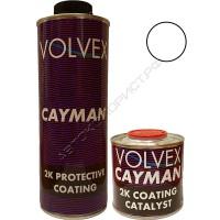 Покрытие защитное для кузова полеуретановое колеруемый CAYMAN VOLVEX (0,8л + 0,2л)
